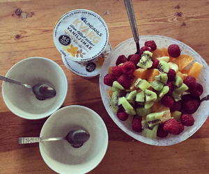 breakfast, summer, and fruit image