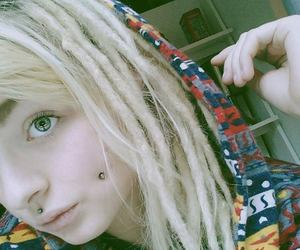 cheek, dreadlocks, and dreads image