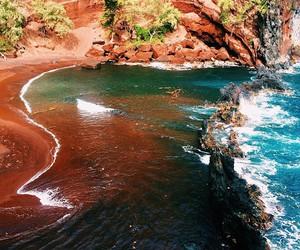 nature, amazing, and beach image