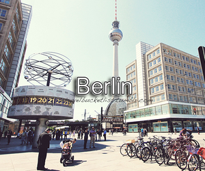 berlin, city, and travel image
