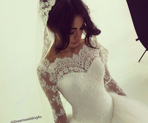 beautiful, breathtaking, and wedding dress image