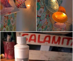cups, diy, and decorations image