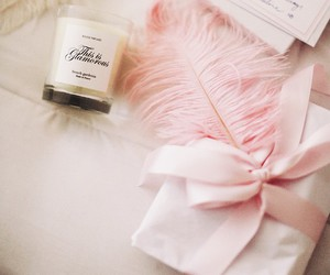 bow, glamorous, and candle image