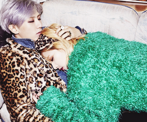 hyuna, trouble maker, and hyunseung image