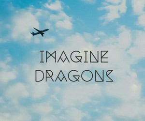 airplane, band, and sky image