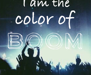 boom, color, and music image