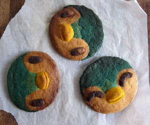 Cookies, pokemon, and food image