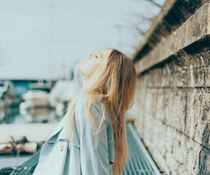 girl, blonde, and indie image
