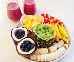 drinks, fitness, and FRUiTS image