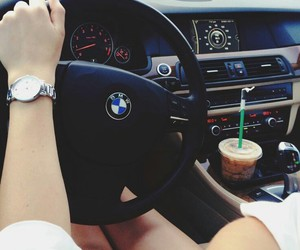 bmw and starbucks image