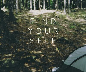 quote, find, and nature image