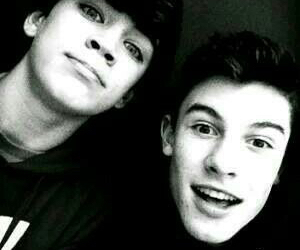 shawn mendes, hayes grier, and magcon image