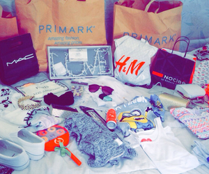 shopping, mac, and primark image
