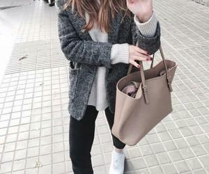 fashion, girl, and nike image