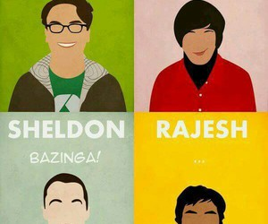 the big bang theory, sheldon, and leonard image