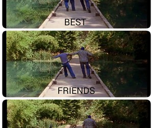 fight, funny, and lake image