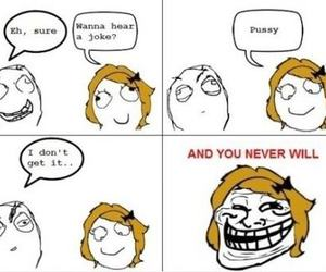 funny and trollface image