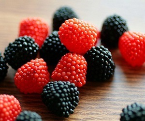 food, berries, and raspberry image