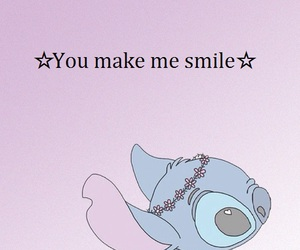 pink, smile, and stich image