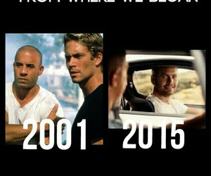 2001, fast & furious, and paul image