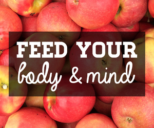 body, mind, and apple image