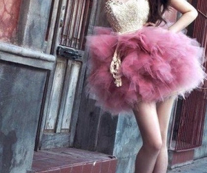 dreamy, fashion, and pink image