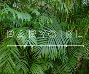 plants, babygirl, and green image