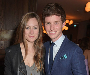 couple, eddie redmayne, and wife image