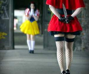 knife, snow white, and disney image