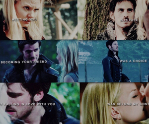 emma, hook, and captain swan image