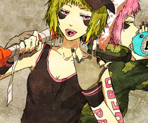anime, vocaloid, and panda hero image
