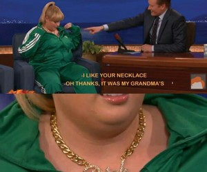 celebrity, interview, and rebel wilson image