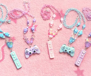 controller, sweet lolita, and necklace image