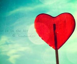 heart, image, and sky image