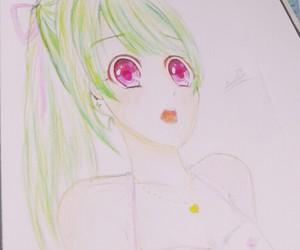 anime, anime girl, and managa image