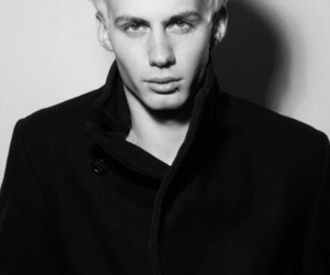 blond boy, model, and max krieger image