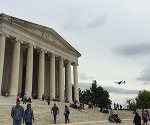Jefferson Memorial, monument, and people image