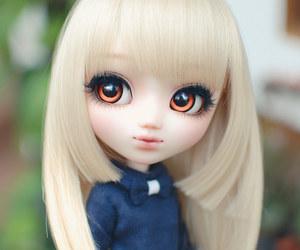 blonde, doll, and kawaii image