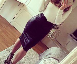beautiful, fashion, and leather image