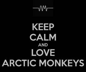 arctic monkeys, indie rock, and keep calm image