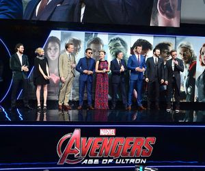 Avengers, cast, and premiere image