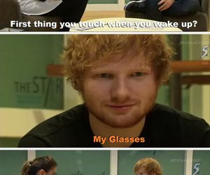 funny, ed sheeran, and lol image