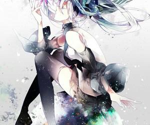 vocaloid, hatsune miku, and anime image