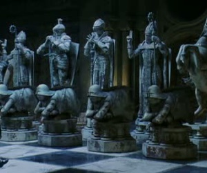 harry potter, chess, and ron weasley image