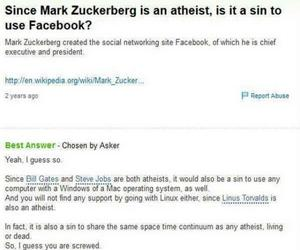 atheist, funny, and social media image
