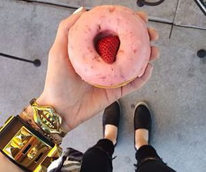 donuts, fashion, and food image