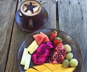 breakfast, cocoa, and coffee image