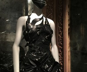 Alexander McQueen, beauty, and black image