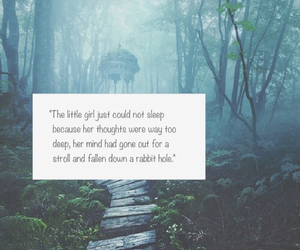alice in wonderland and quote image