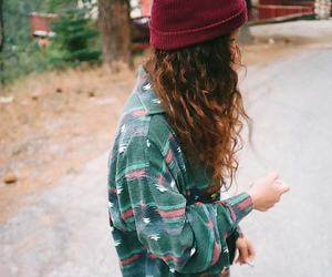 girl, hipster, and hair image